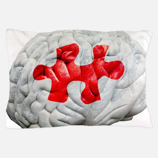 Brain function, conceptual Pillow Case