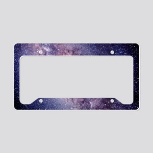 Central Milky Way License Plate Holder