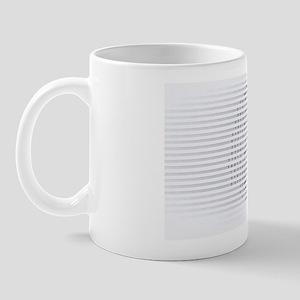 Brain, conceptual computer artwork Mug