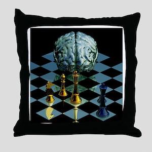 Brainpower Throw Pillow