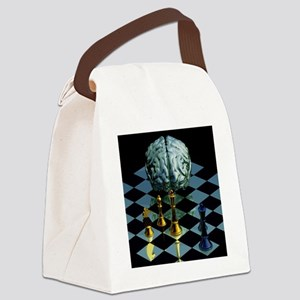 Brainpower Canvas Lunch Bag
