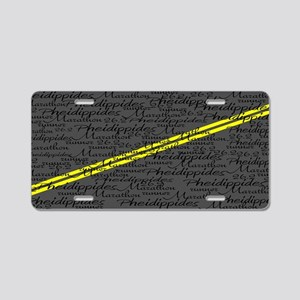 Pheid 4200 6 Aluminum License Plate