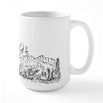 Furry Chase Large Mug