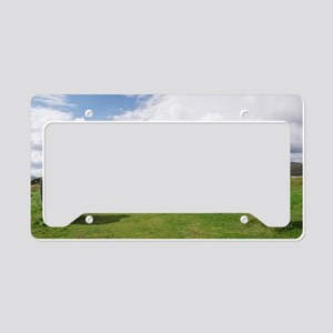 Callanish stone circle License Plate Holder