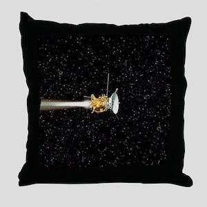 Cassini spacecraft Throw Pillow