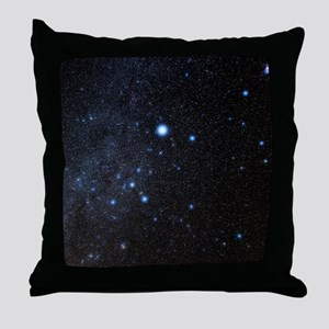 Canis Major constellation Throw Pillow