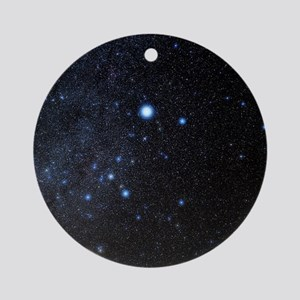 Canis Major constellation Round Ornament