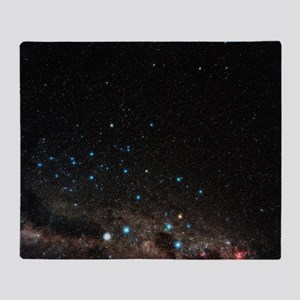 Centaurus constellation Throw Blanket