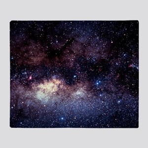 Central Milky Way in constellation S Throw Blanket
