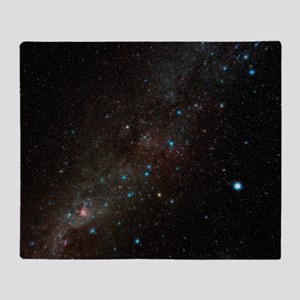 Carina constellation Throw Blanket