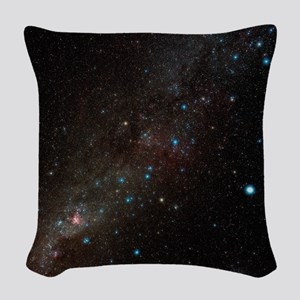 Carina constellation Woven Throw Pillow