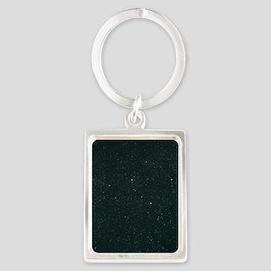 Cassiopeia constellation Portrait Keychain