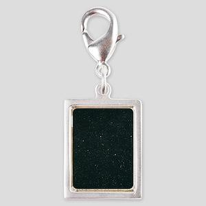 Cassiopeia constellation Silver Portrait Charm