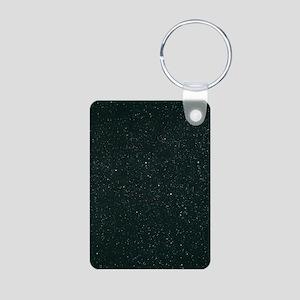 Cassiopeia constellation Aluminum Photo Keychain
