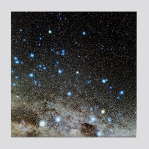Centaurus and Crux constellations Tile Coaster