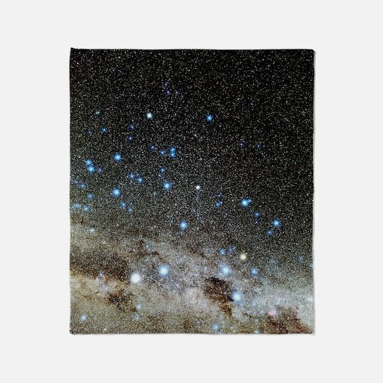 Centaurus and Crux constellations Throw Blanket