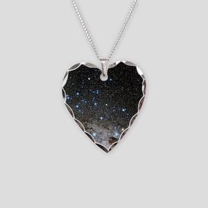Centaurus and Crux constellat Necklace Heart Charm