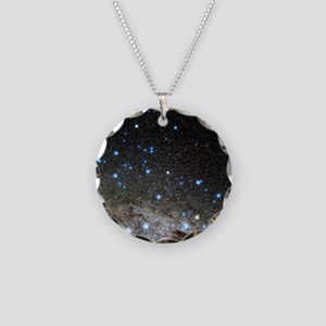 Centaurus and Crux constella Necklace Circle Charm