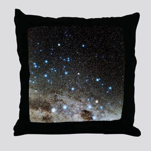 Centaurus and Crux constellations Throw Pillow