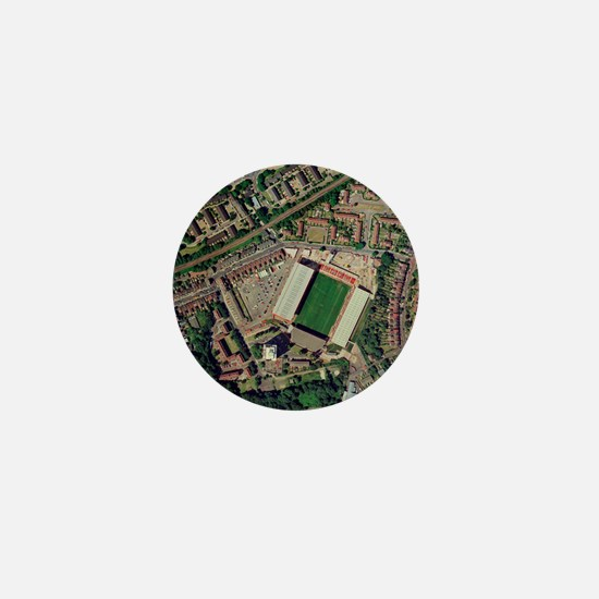 Charlton Athletic's Valley stadium Mini Button