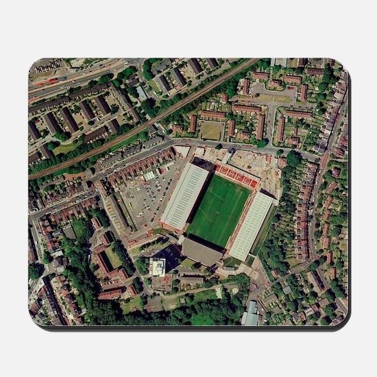Charlton Athletic's Valley stadium Mousepad