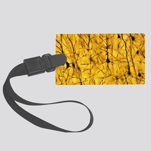 Cerebral cortex nerve cells Large Luggage Tag