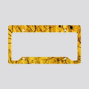 Cerebral cortex nerve cells License Plate Holder