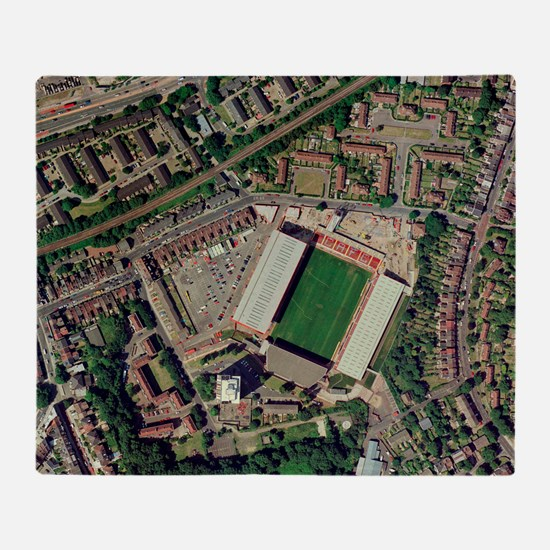 Charlton Athletic's Valley stadium Throw Blanket