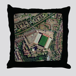 Charlton Athletic's Valley stadium Throw Pillow