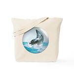 Bubble Dolphin Tote Bag