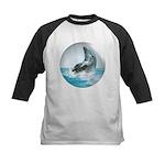 Bubble Dolphin Kids Baseball Jersey