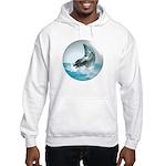Bubble Dolphin Hooded Sweatshirt