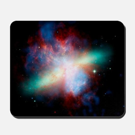 Cigar galaxy (M82), composite image Mousepad