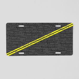 Pheid 5615 Aluminum License Plate