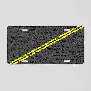 Pheid 12600 Aluminum License Plate