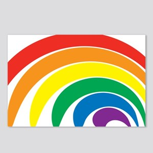 Funky Rainbow Postcards (Package of 8)