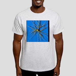 Coloured computer image of a nerve c Light T-Shirt