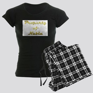 Property Of Nubia Female Women's Dark Pajamas
