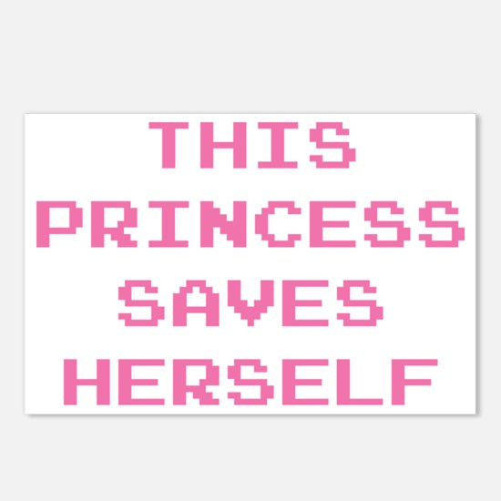 This Princess Saves Herse Postcards (Package of 8)