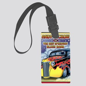 Andy Lackow and The New  Speedwa Large Luggage Tag