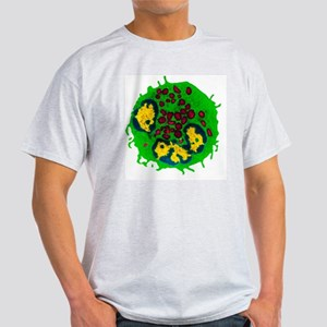 Coloured TEM of a basophil white blo Light T-Shirt