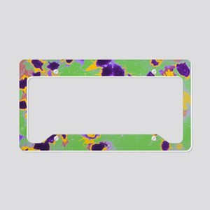 Coloured TEM of activated pla License Plate Holder