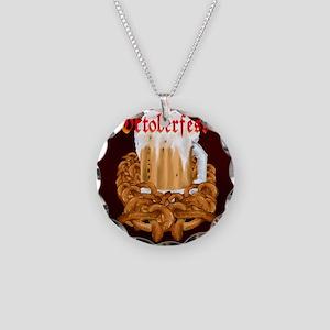 OKTOBERFEST Necklace Circle Charm