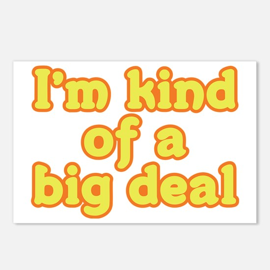 I'm Kind Of A Big Deal Postcards (Package of 8)