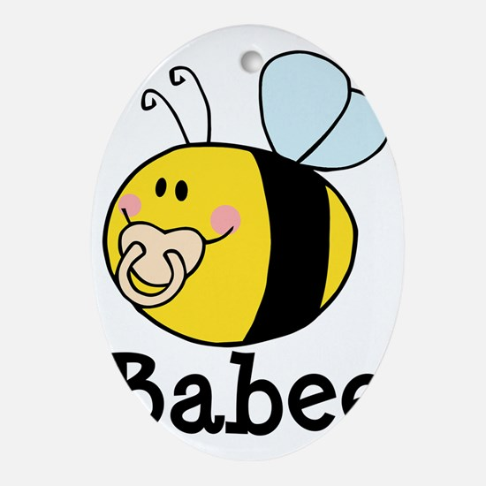 Babee Bee Oval Ornament