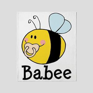 Babee Bee Throw Blanket