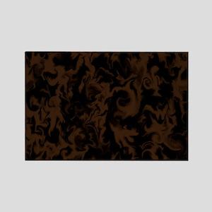 Dark Chocolate Rectangle Magnet