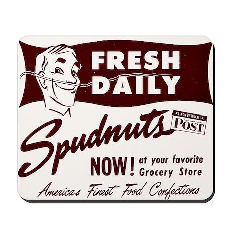 SPUDNUTS Fresh Daily Mousepad