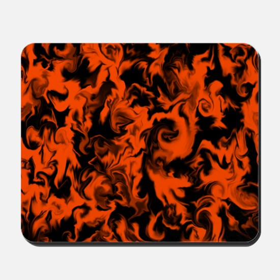 Pumpkin Orange Mousepad