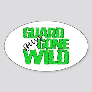 Guard Guys Gone Wild Oval Sticker